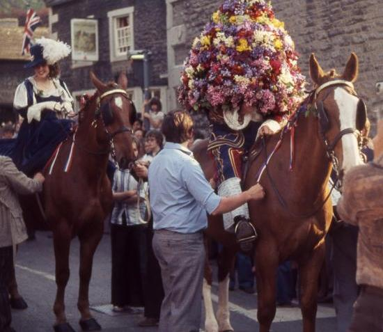 The Garland King and Queen, Castleton, Derbyshire