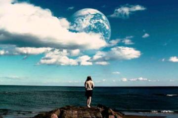 Movie still from 'Another Earth'