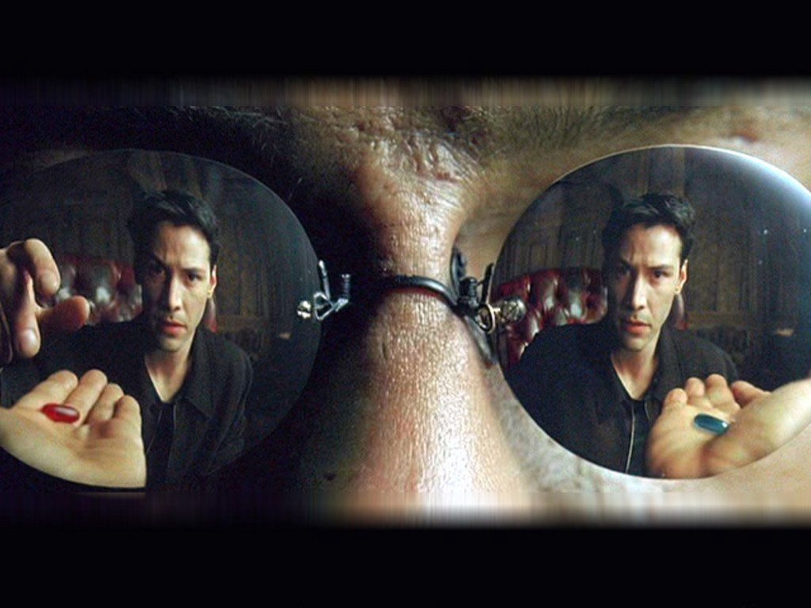 Choosing the red pill in The Matrix