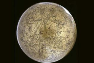The famous celestial globe of Muhammad Salih Tahtawi