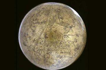The famous celestial globe of Muhammad Salih Tahtawi