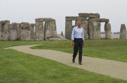 Obama Stonehenge Illuminati