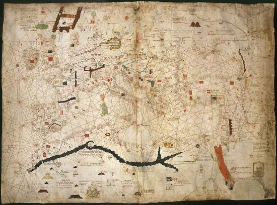 Dulcert 1339 map