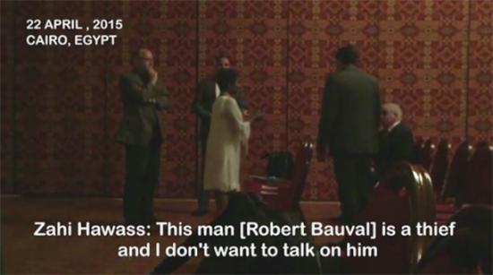 Zahi Hawass goes into meltdown