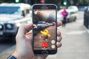 Augmented reality in Pokemon Go