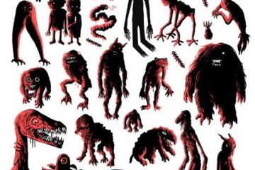 Know Your Cryptids Wall Chart
