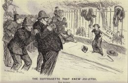 The Suffragette That Knew Jui-Jitsu