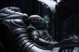 Alien from the movie Prometheus