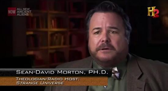 Sean David Morton on History Channel's 'Ancient Aliens'