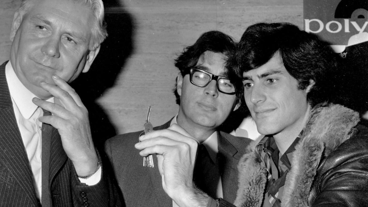 Uri Geller in the 1970s