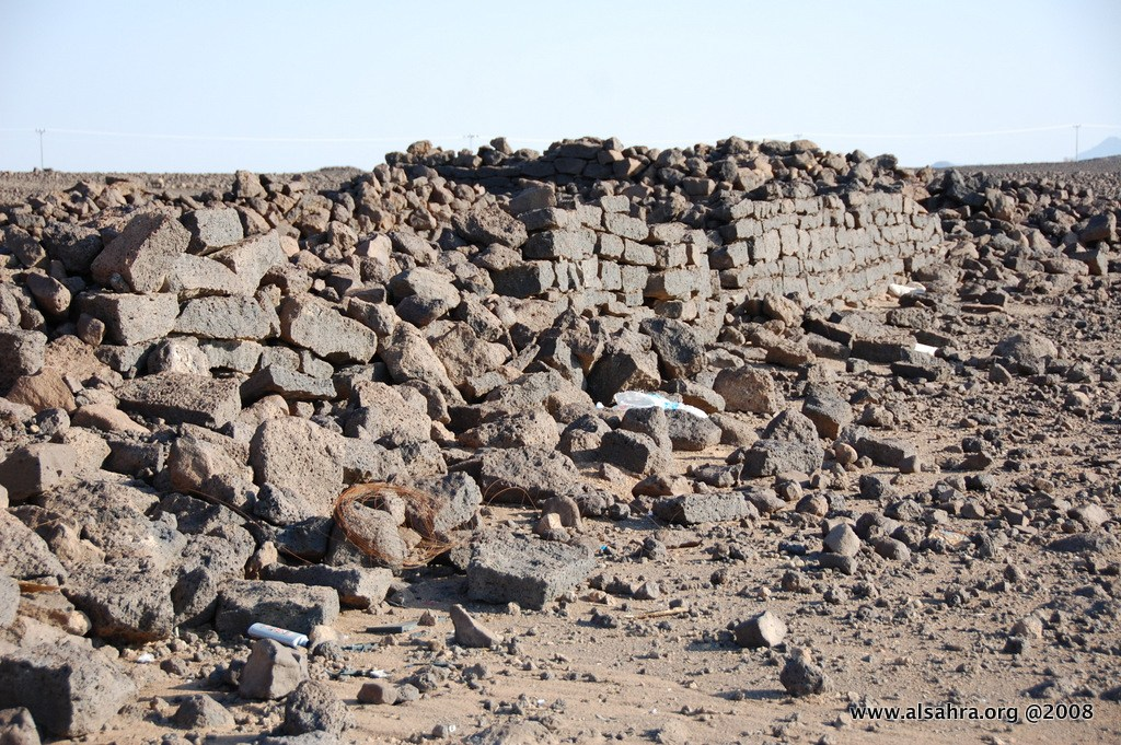Ancient stone structures in Saudi Arabia