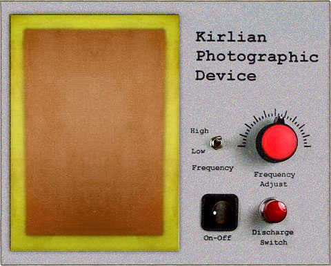 David Bowie's Kirlian Photography Machine