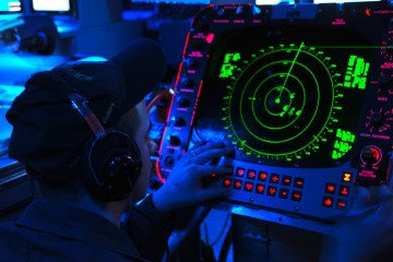 US Navy Radar Operator
