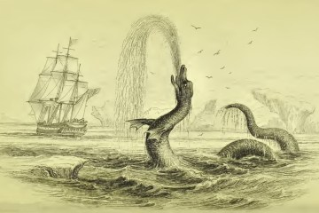 'Sea serpent' witnessed by Poul Egede in 1734