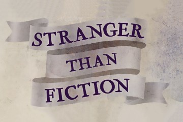 Stranger Than Fiction Book Cover Banner