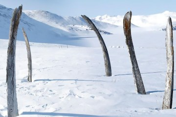Whale Bone Alley in Siberia