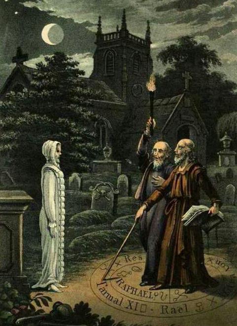 Necromancy ritual