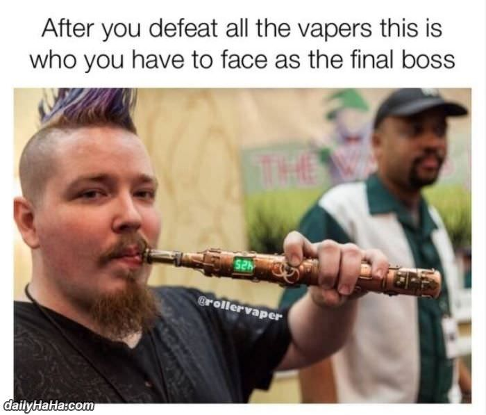 all the vapers funny picture
