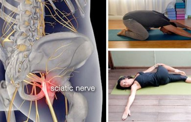 yoga poses to relieve sciatica pain