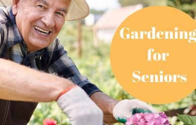 Gardening is Great for Seniors