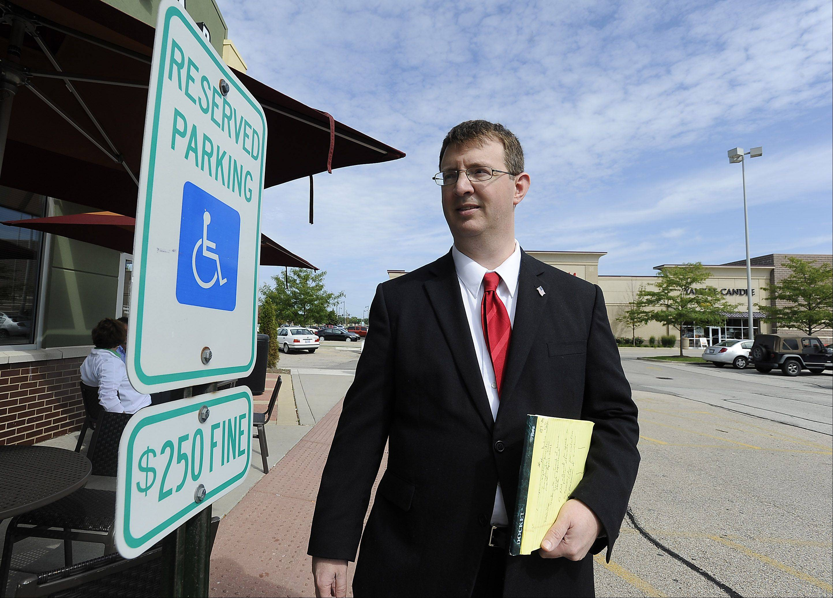 Streamwood man's letters to businesses target ADA compliance