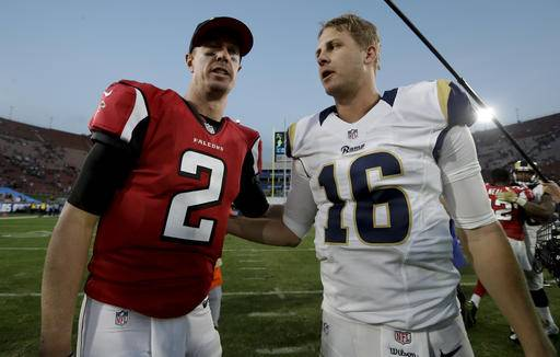 Image result for matt ryan jared goff