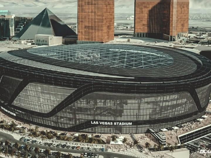The Distinct Design of Allegiant Stadium in Las Vegas