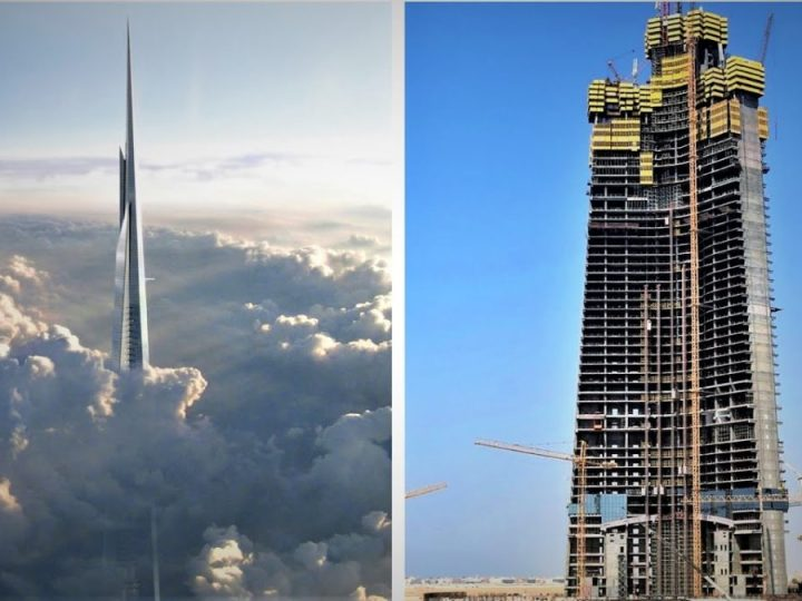 Jeddah Tower Progress of Construction and Current Status