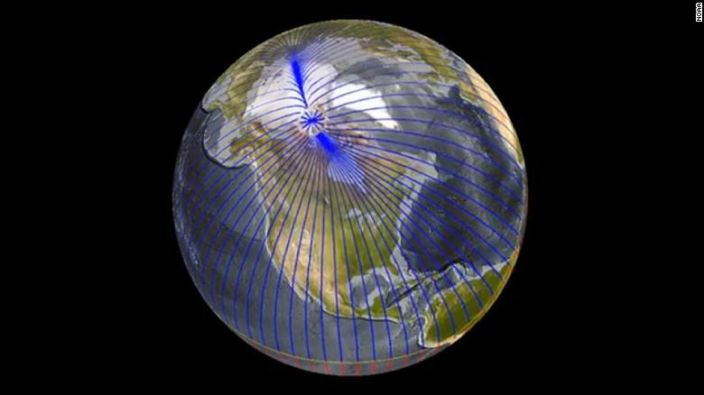 Earth's magnetic north pole is heading for Russia