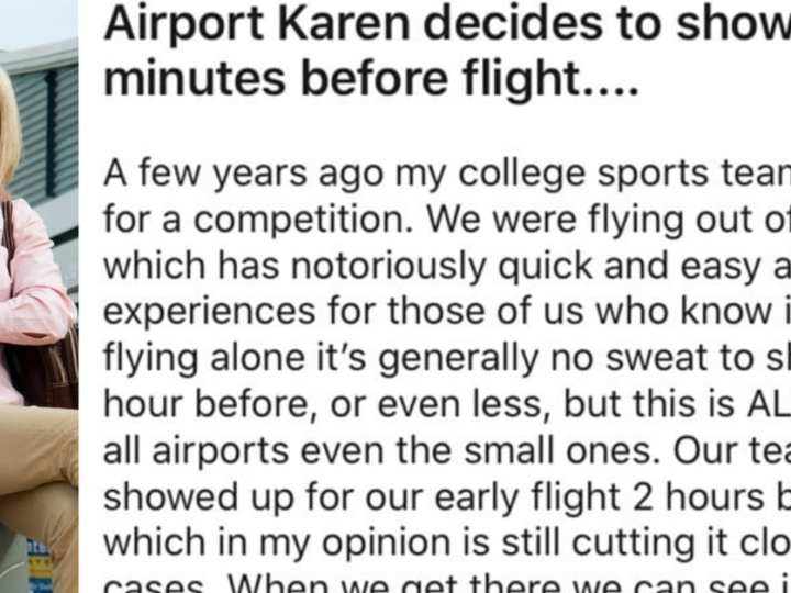 "Airport ""Karen"" Freaks Out and Learns a Valuable Lesson"