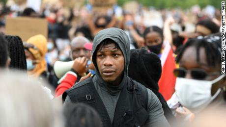 & # 39;  Now is the time John motion & # 39;: Boyega address the protesters rally in London Black lifetime Res