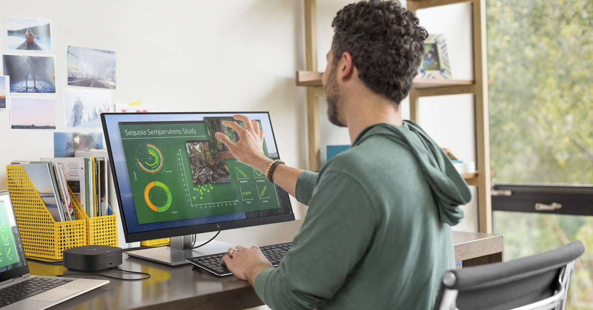 HP's Latest Monitors Are Designed for Video Conferencing