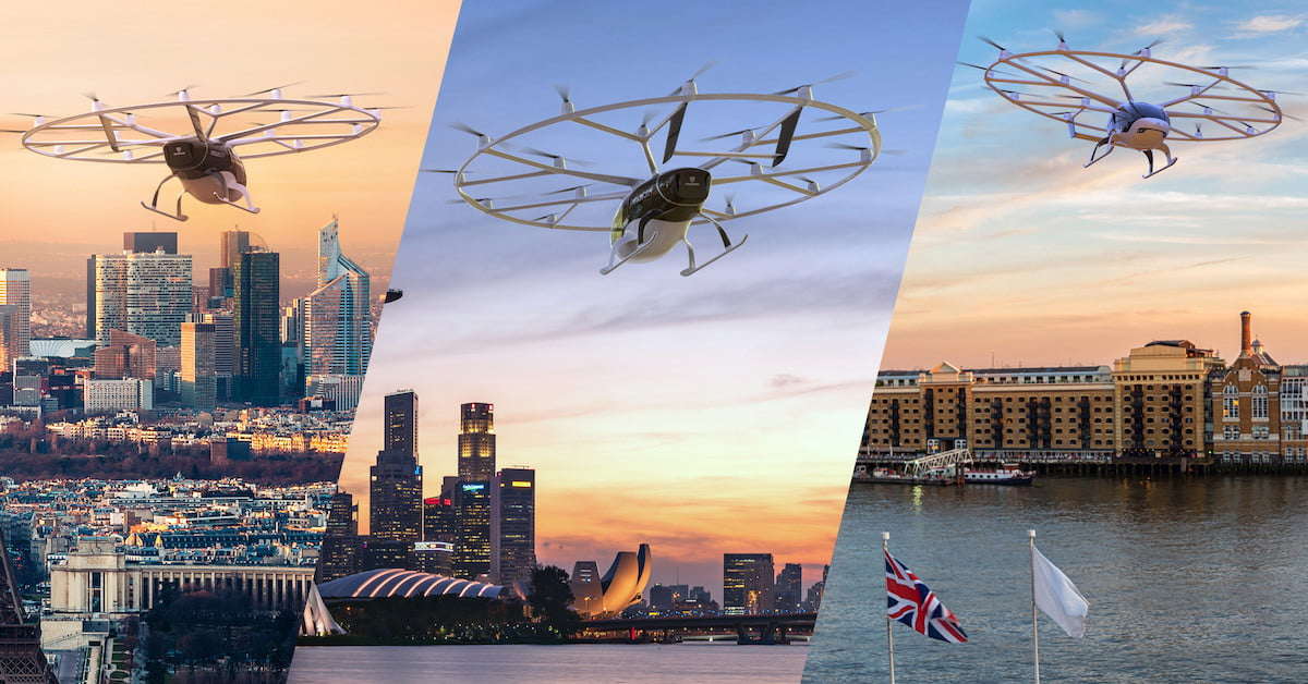 Volocopter Offers Tickets for Flights on Its Unique Aircraft