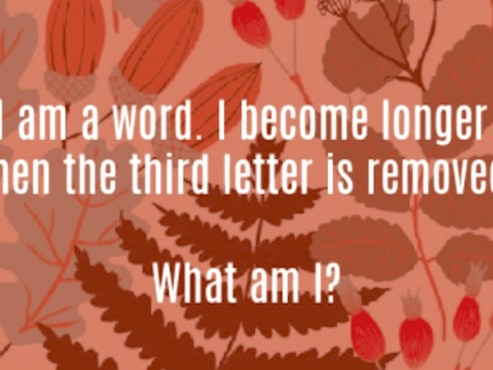 Grab Your Kids and Try Solving These 6 Fun Riddles