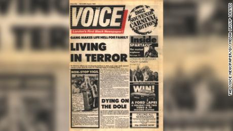 The inaugural edition of the Voice newspaper, the Notting Hill Carnival launched in August 1982.