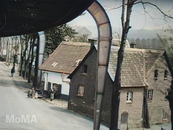 'The Flying Train' Now Colorised, 1902 Film Captures Futuristic Ride on a Suspended Railway