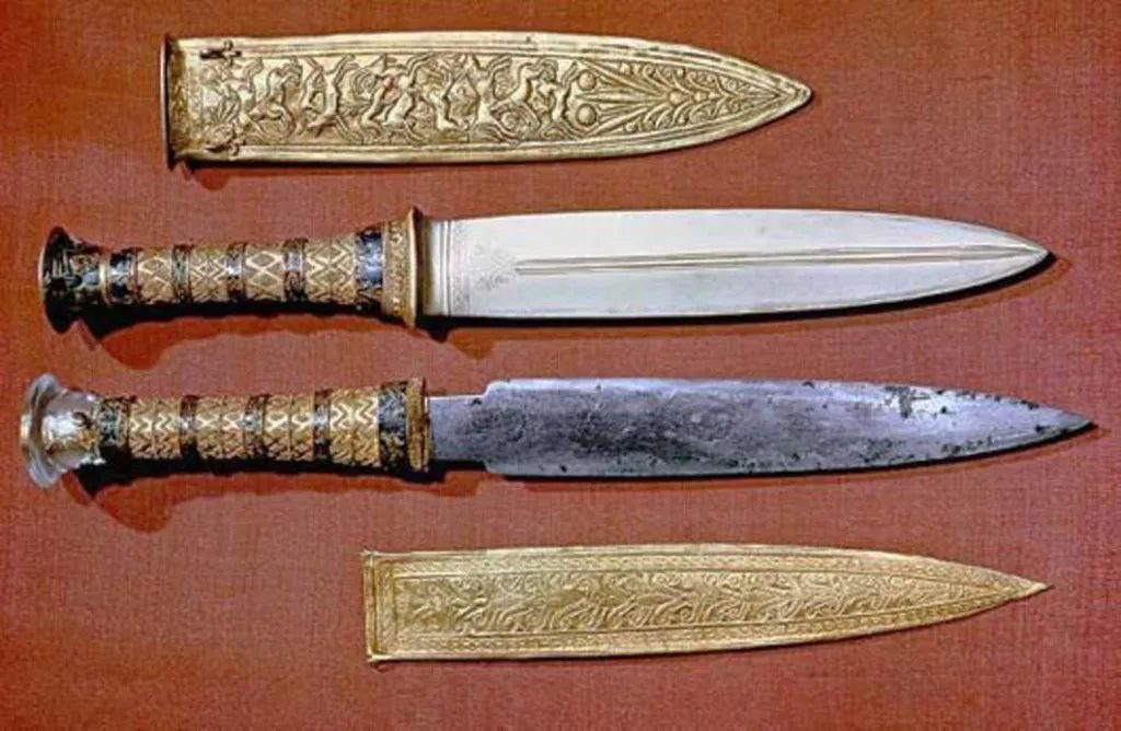 Tutankhamun Dagger Was Made From a Meteorite