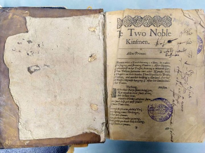 Rare Edition of Shakespeare's Last Play Found in Spain