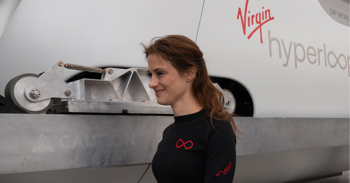 Sarah Luchian on Being the First Virgin Hyperloop Passenger