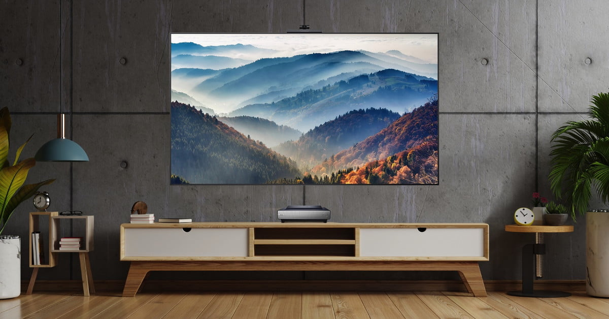 Hisense TriChroma Laser TV Produces A Huge Amount Of Colors