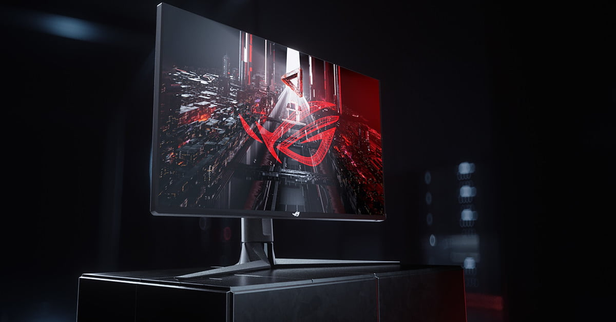 Asus Launches 43-inch ROG Strix Gaming Monitor with HDMI 2.1