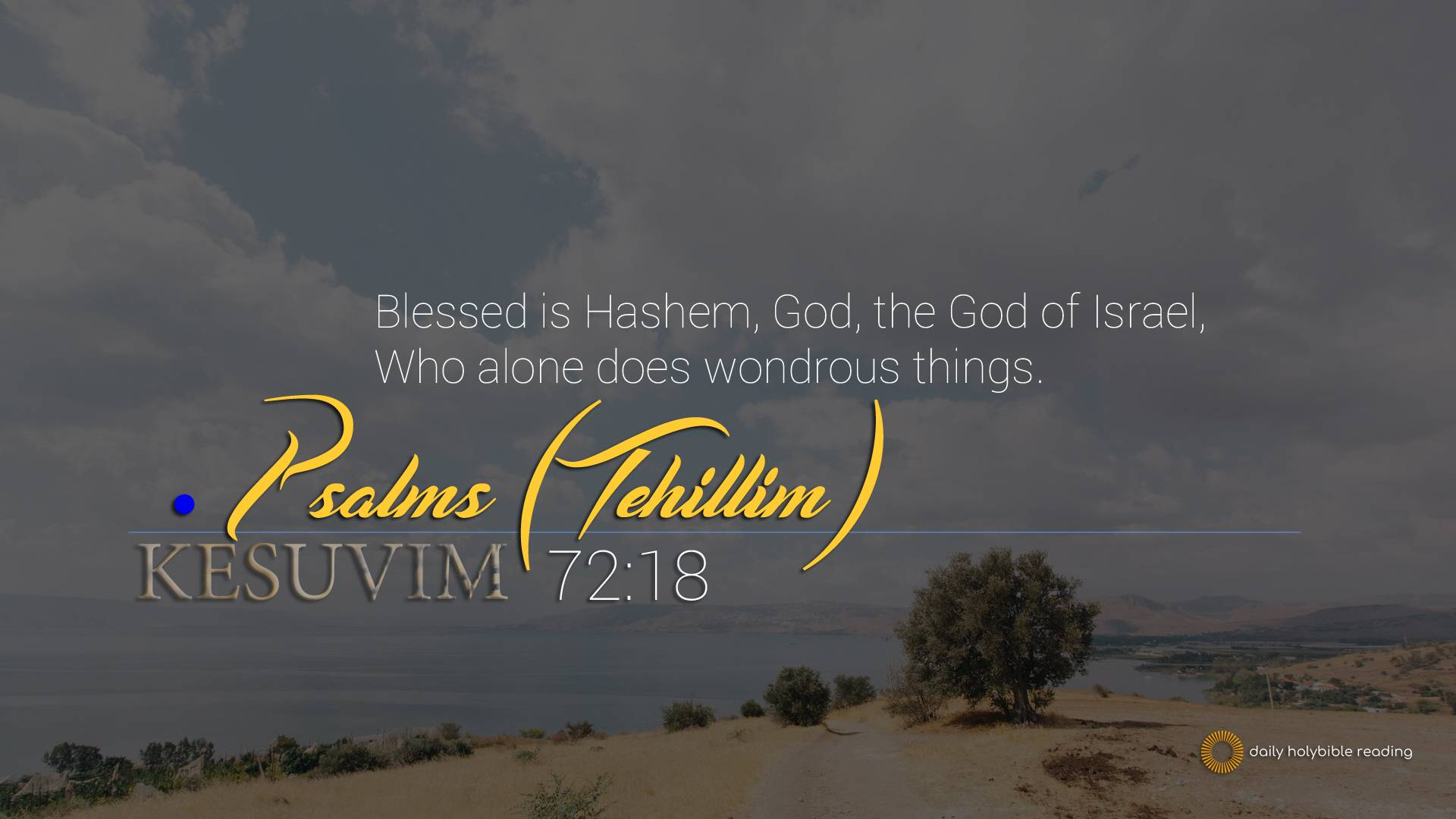 Psalms Chapter 72