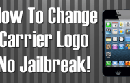 How to Change Carrier Logo on iPhone, iPad Without Jailbreaking