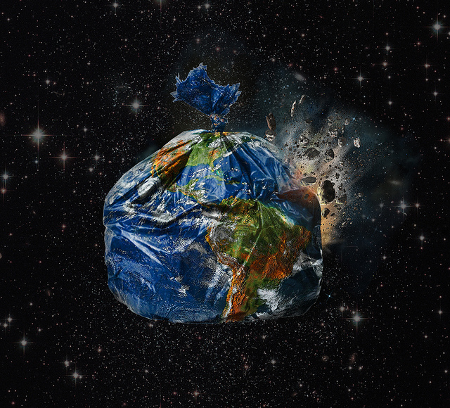 Earth First! Now we'll trash the other planets. There are other planets, right? (Photo by Gideon Wright/Flickr)