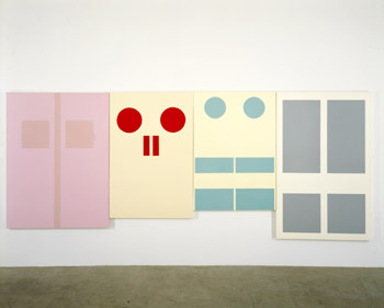 door paintings by Gary Hume