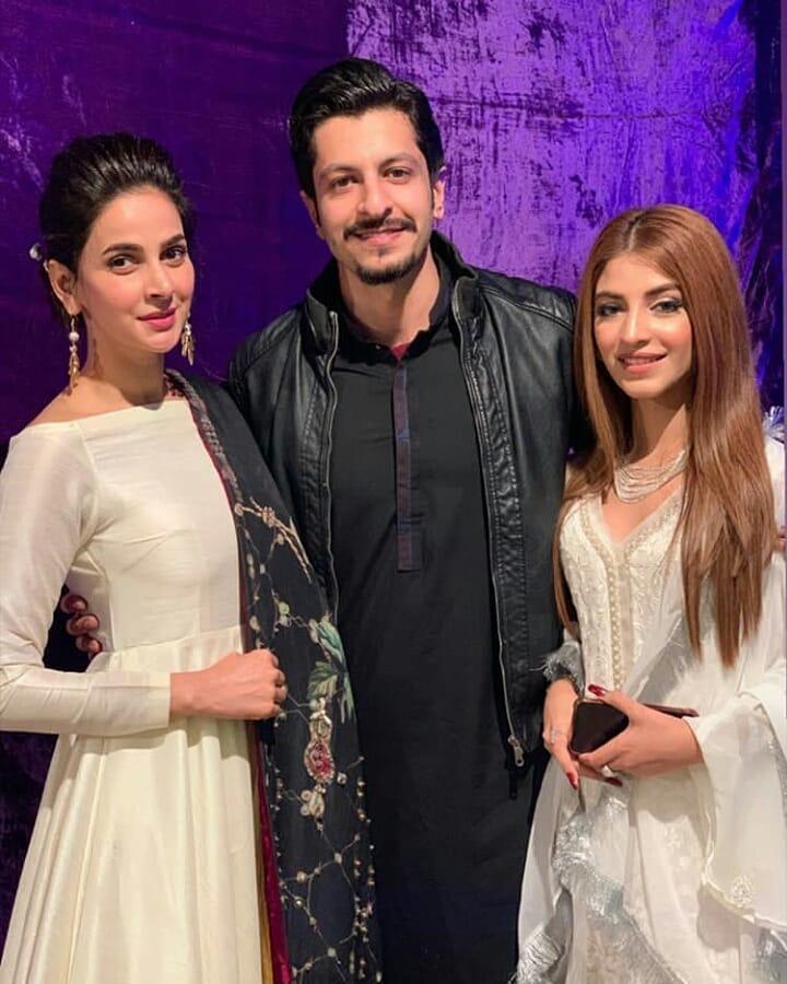 New Awesome Photos of Saba Qamar at an Event