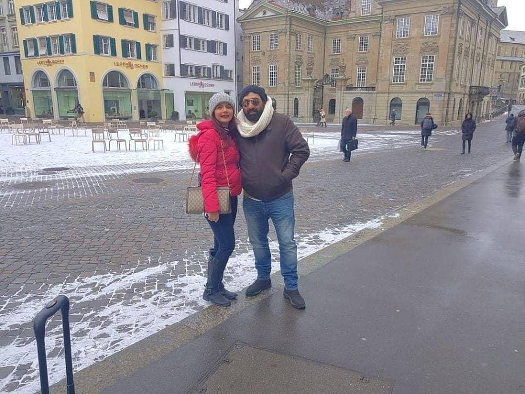 New Awesome Photos of Nida Yasir and Yasir Nawaz in Switzerland
