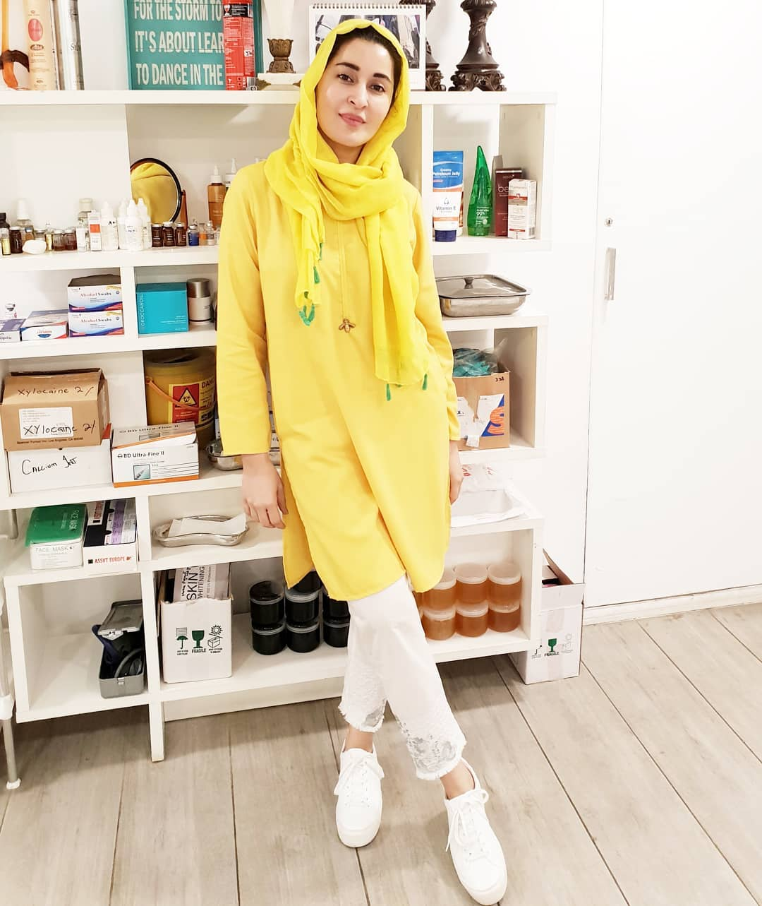 New Awesome Photos of Shaista Lodhi at her Aesthetic Clinic