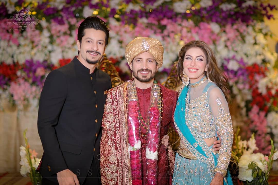 Awesome Wedding Photos of Saba Faisal's Son Salman Faisal Storming Internet
