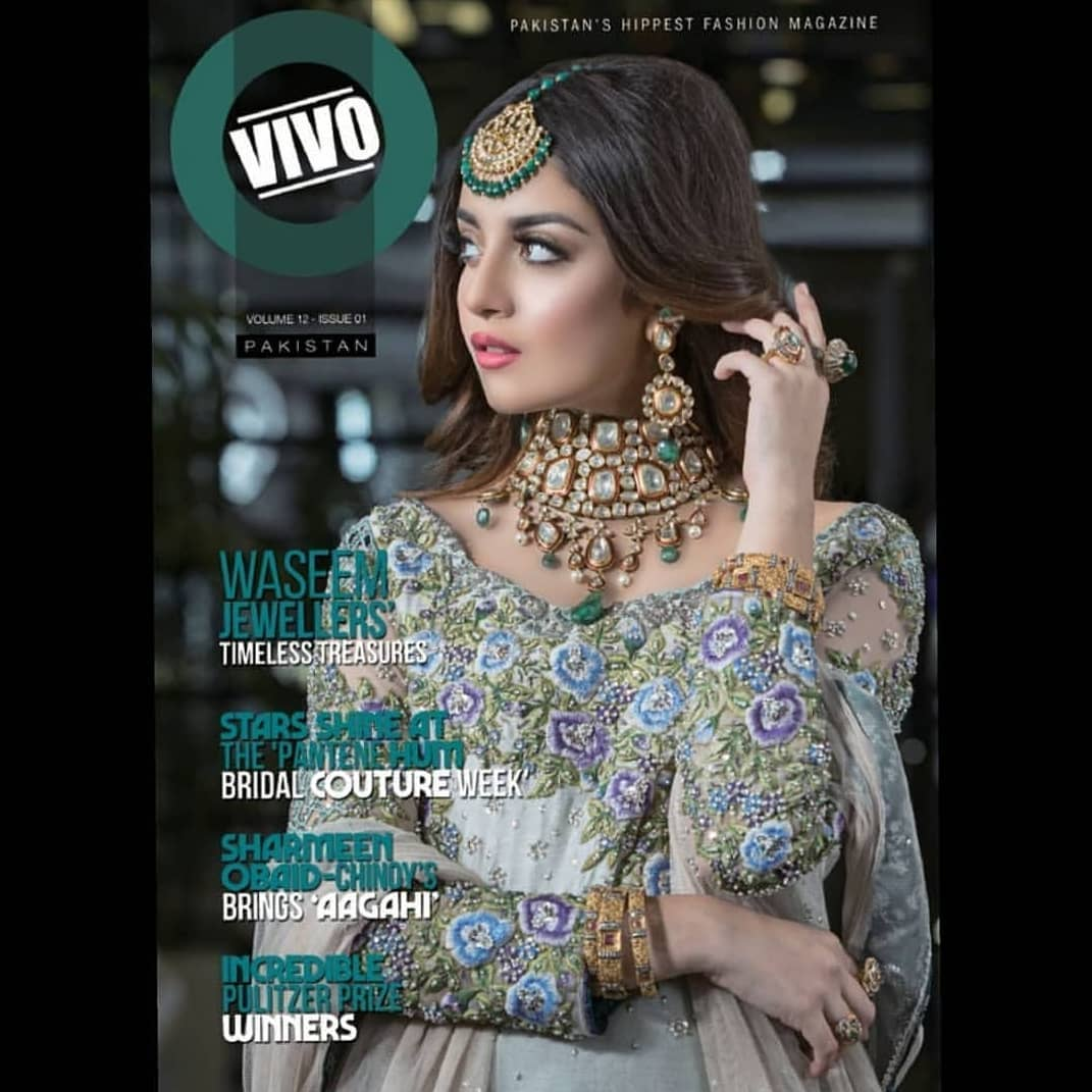 New Awesome Bridal Photoshoot of Actress Alizeh Shah